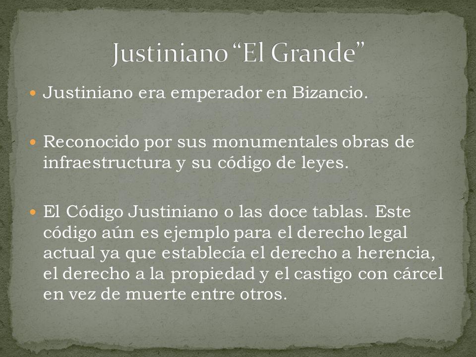 Justiniano El Grande