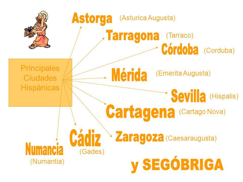 Principales Ciudades Hispánicas