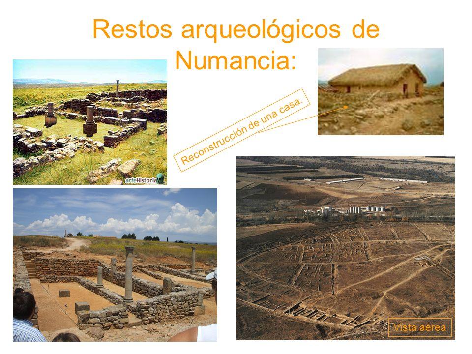 Restos arqueológicos de Numancia: