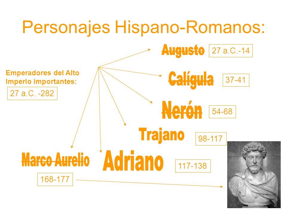 Personajes Hispano-Romanos: