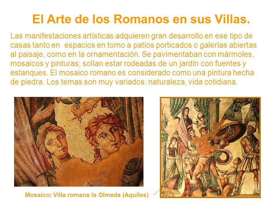 El Arte de los Romanos en sus Villas.