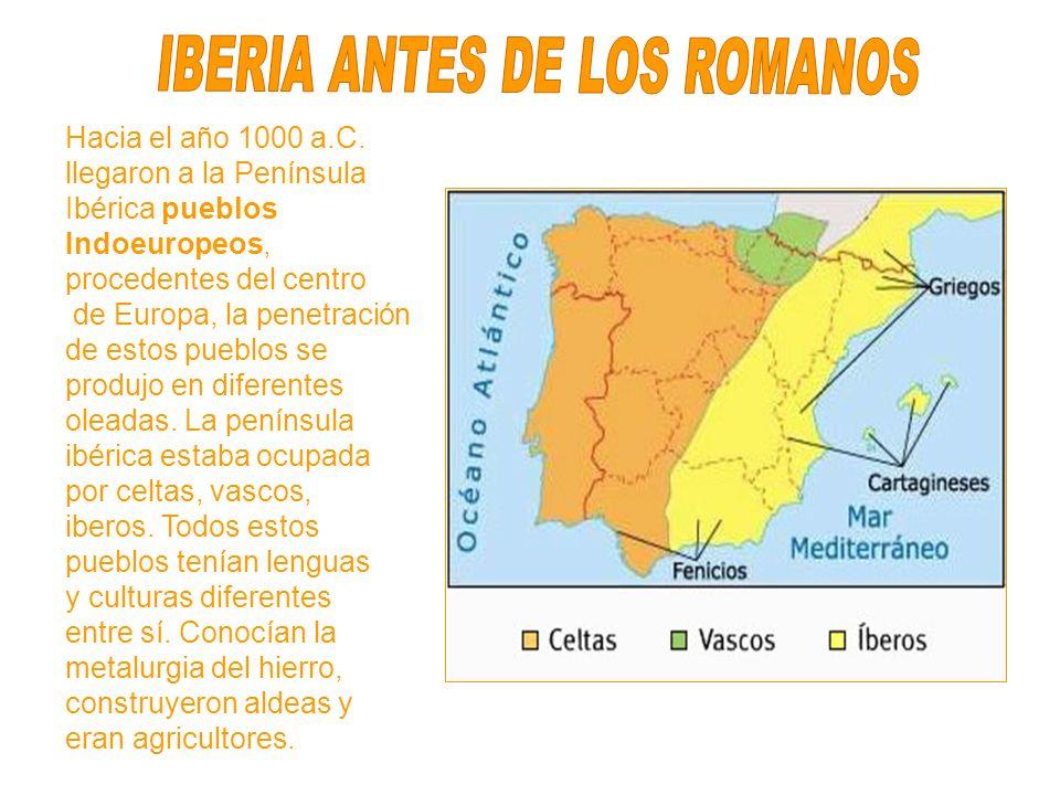 IBERIA ANTES DE LOS ROMANOS