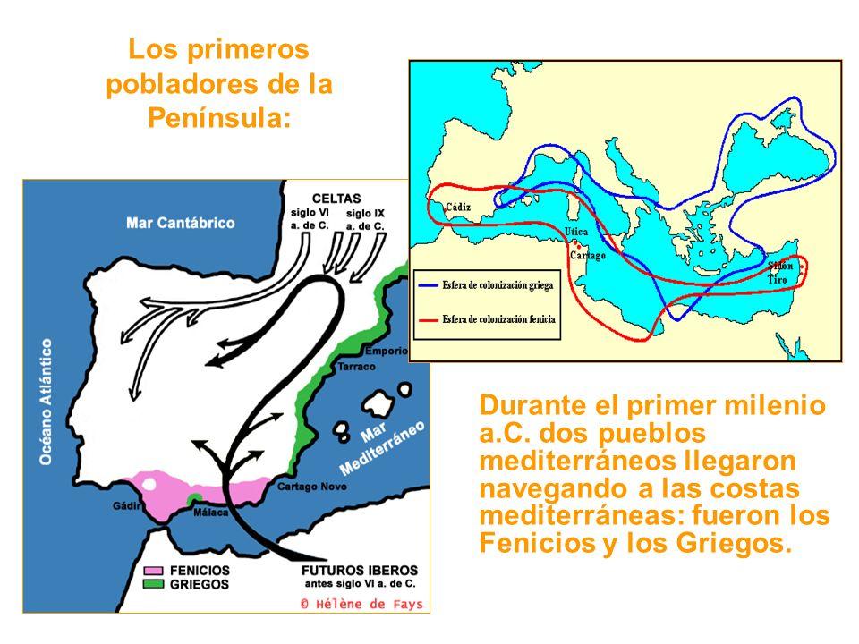 Los primeros pobladores de la Península: