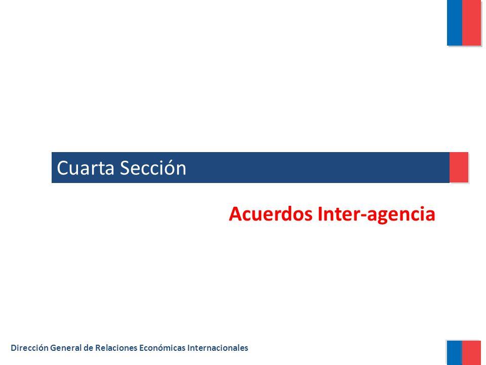 Acuerdos Inter-agencia