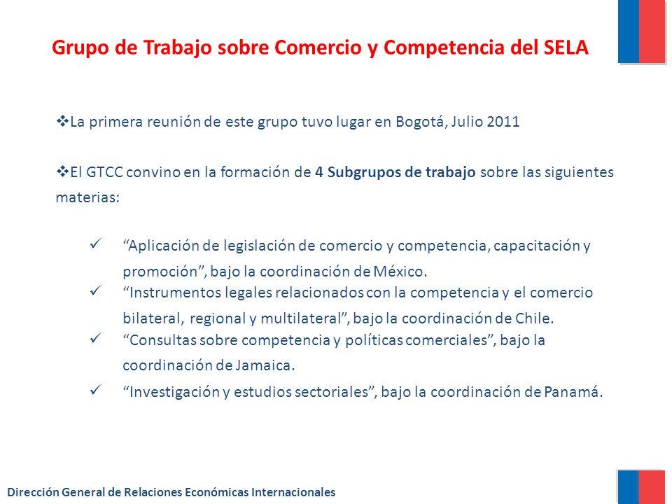 Grupo de Trabajo sobre Comercio y Competencia del SELA
