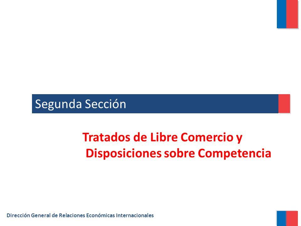 Tratados de Libre Comercio y Disposiciones sobre Competencia