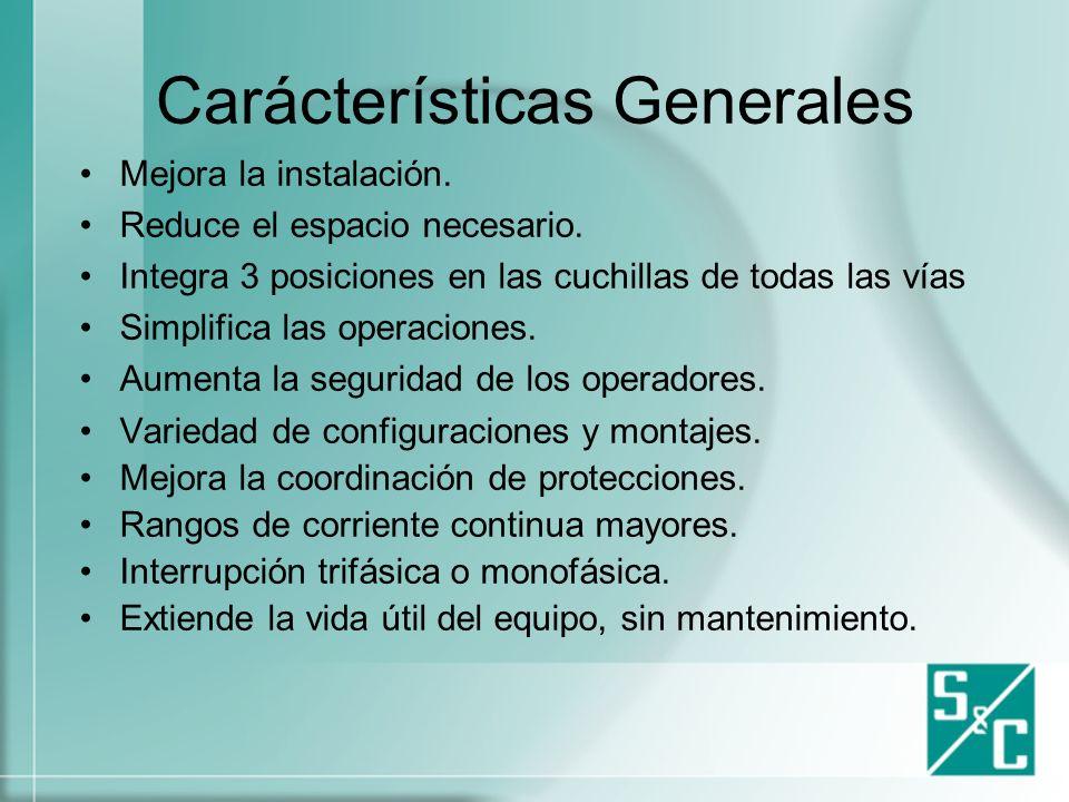 Carácterísticas Generales