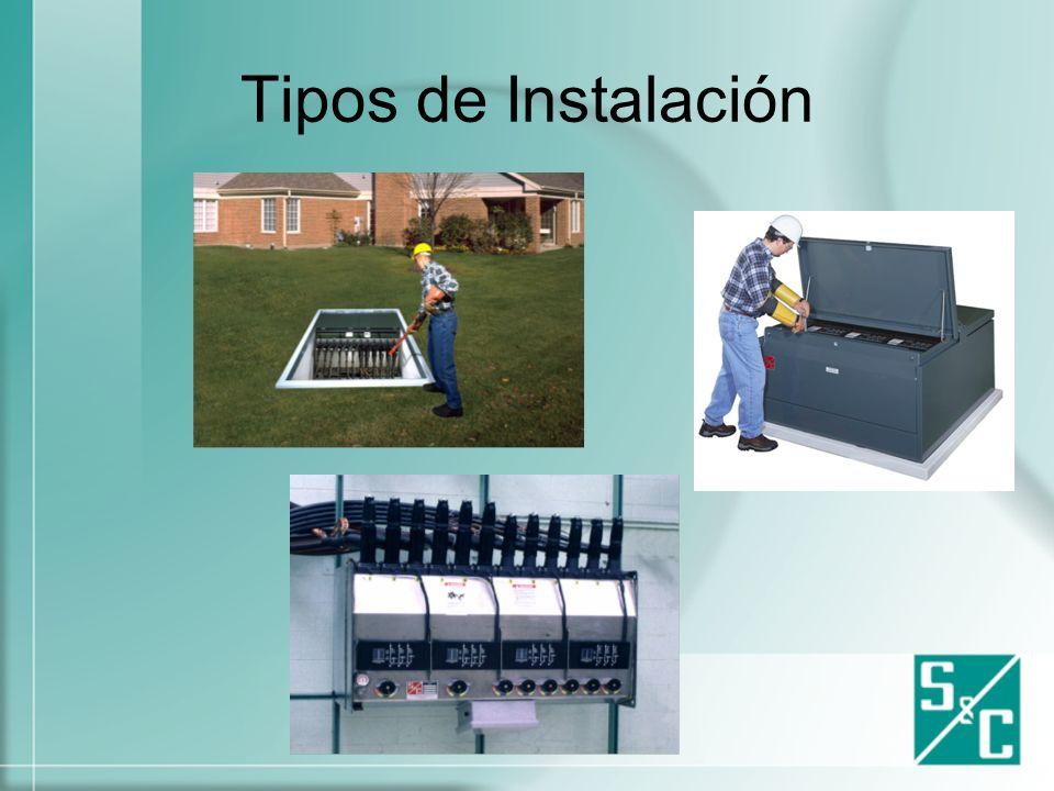 Tipos de Instalación