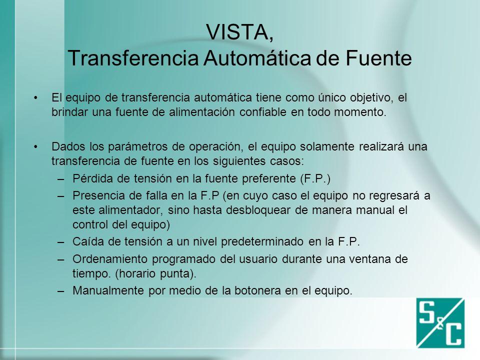 VISTA, Transferencia Automática de Fuente