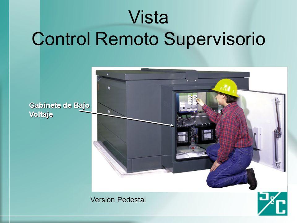 Vista Control Remoto Supervisorio