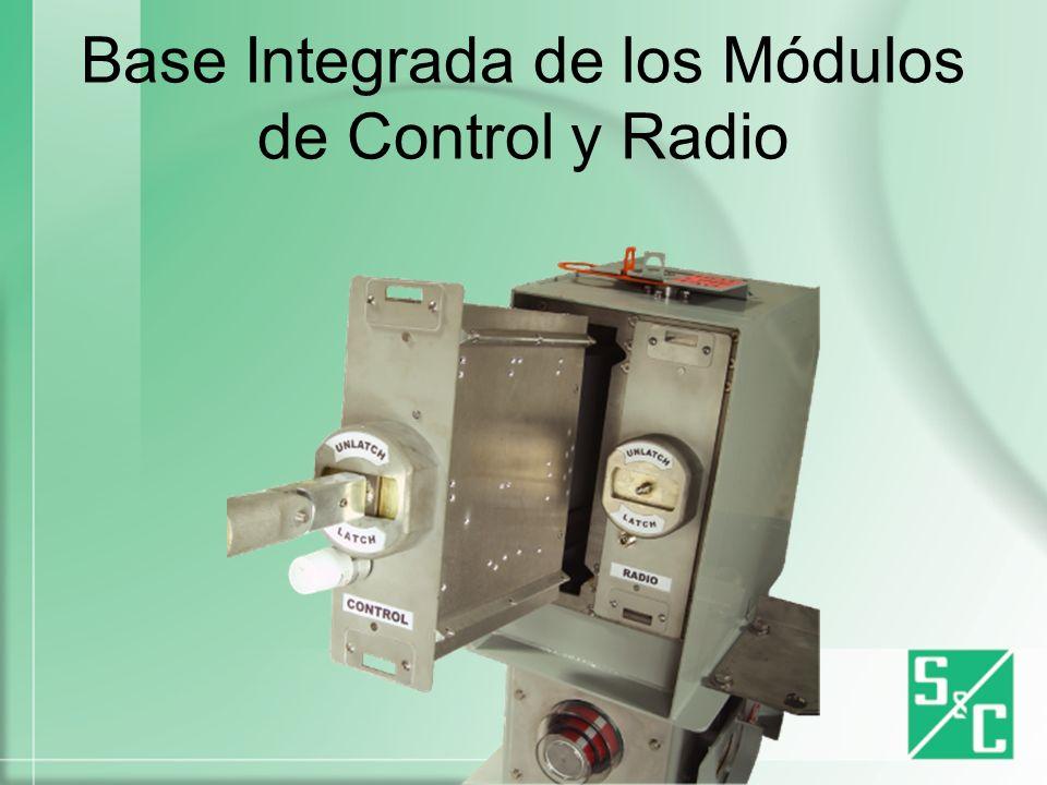 Base Integrada de los Módulos de Control y Radio