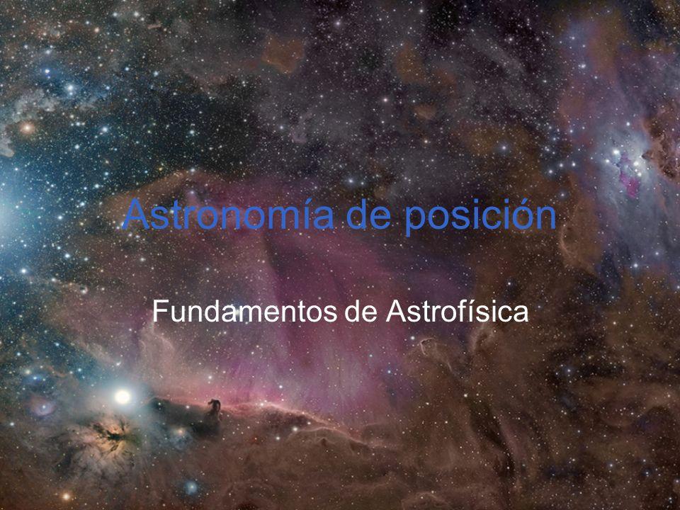 Astronomía de posición