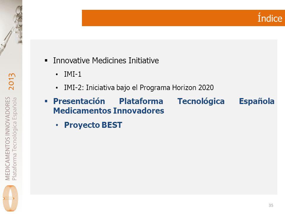 Índice Innovative Medicines Initiative