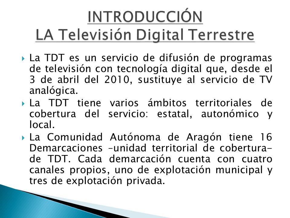 INTRODUCCIÓN LA Televisión Digital Terrestre