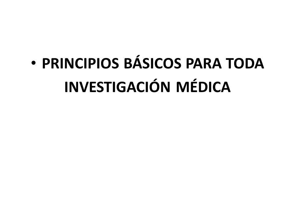 PRINCIPIOS BÁSICOS PARA TODA