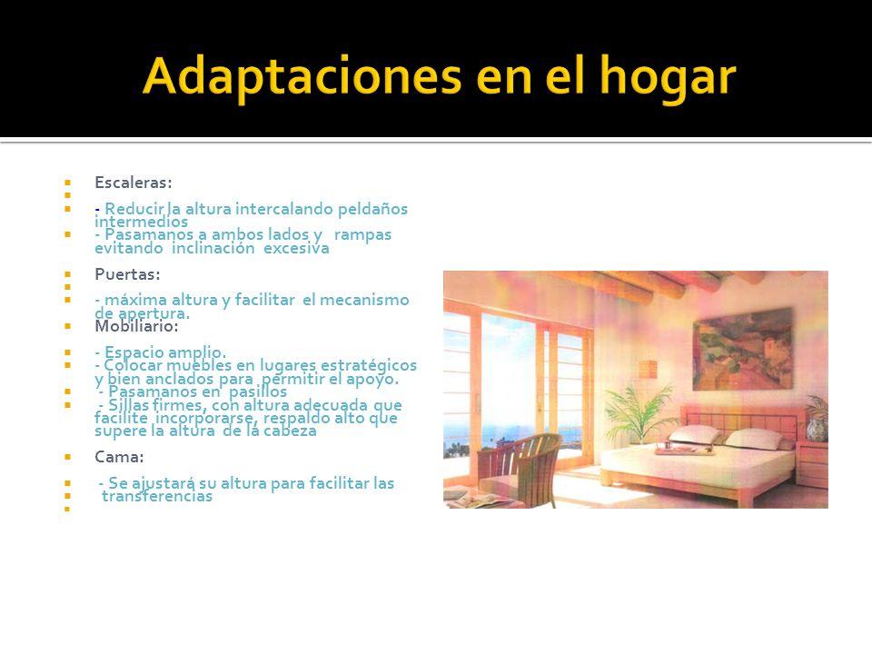 Adaptaciones en el hogar