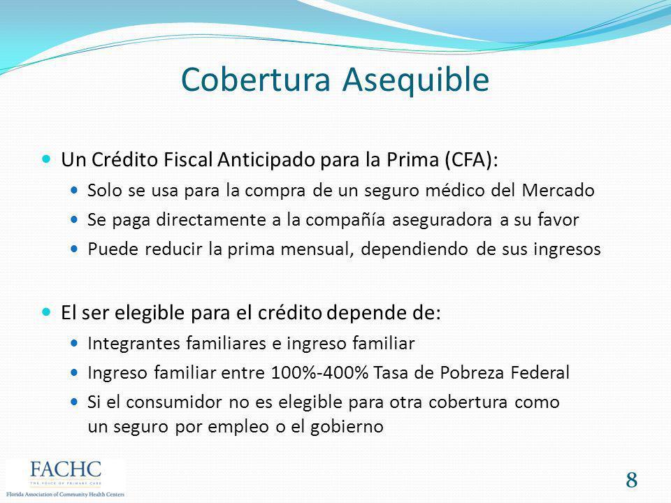 Cobertura Asequible Un Crédito Fiscal Anticipado para la Prima (CFA):
