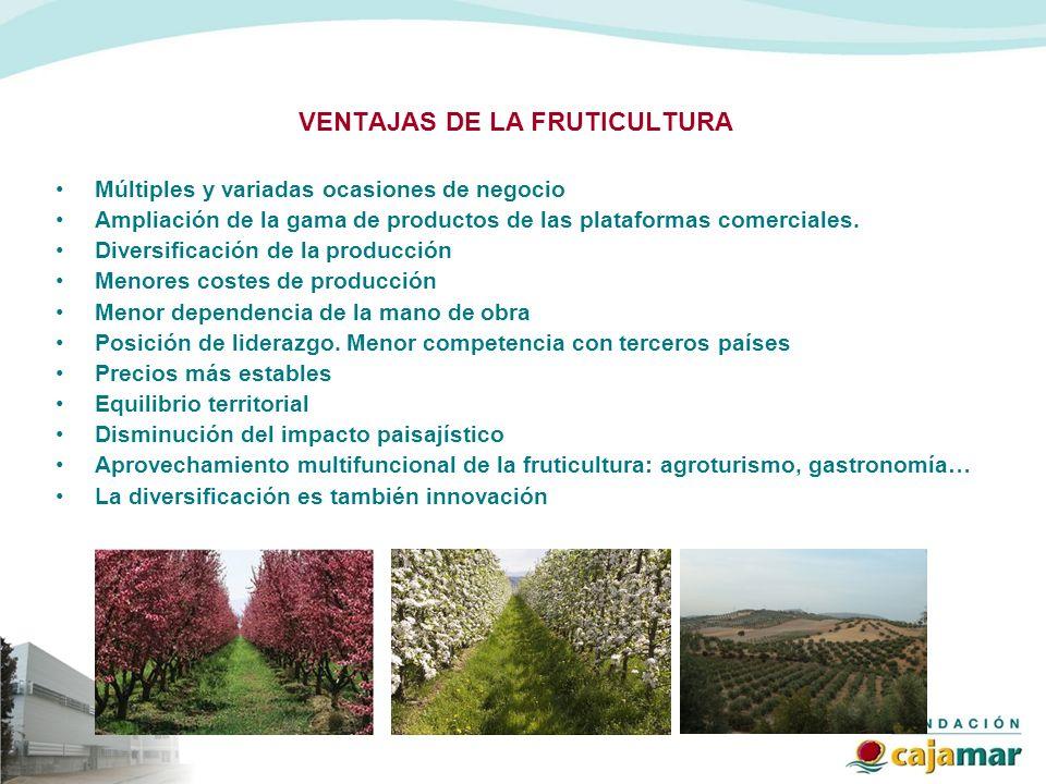 VENTAJAS DE LA FRUTICULTURA