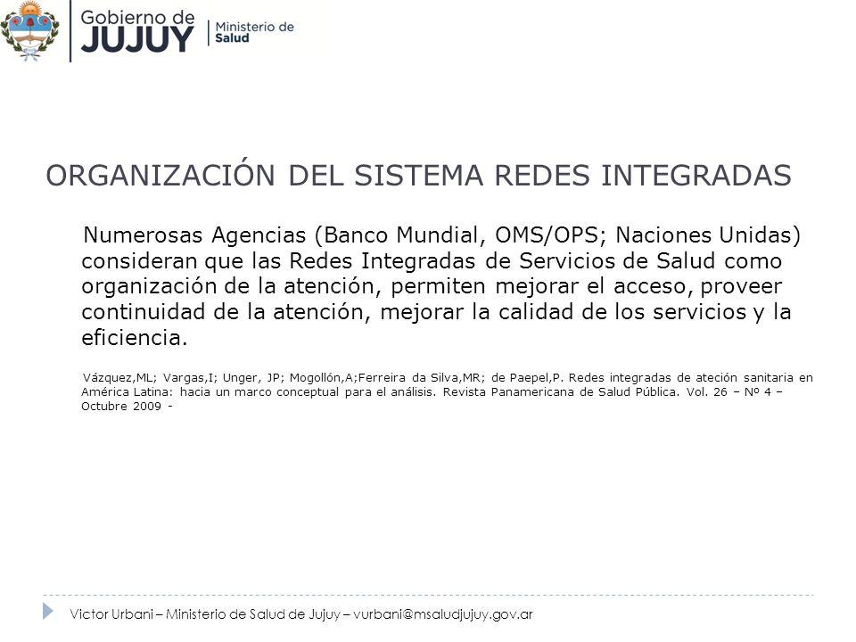 ORGANIZACIÓN DEL SISTEMA REDES INTEGRADAS