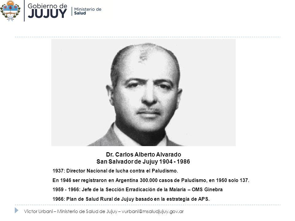 Dr. Carlos Alberto Alvarado
