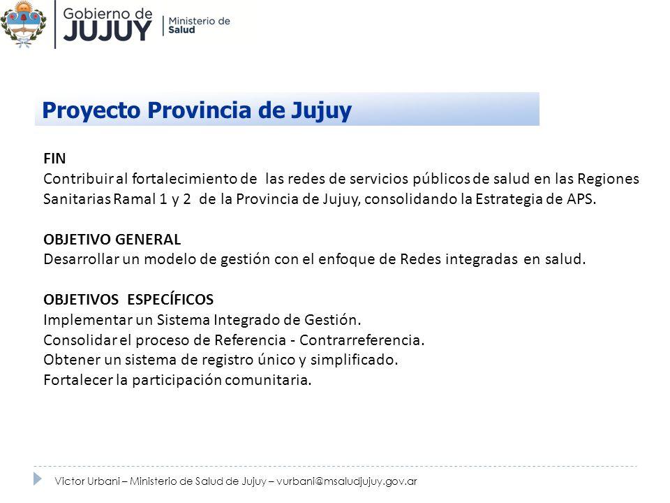 Proyecto Provincia de Jujuy