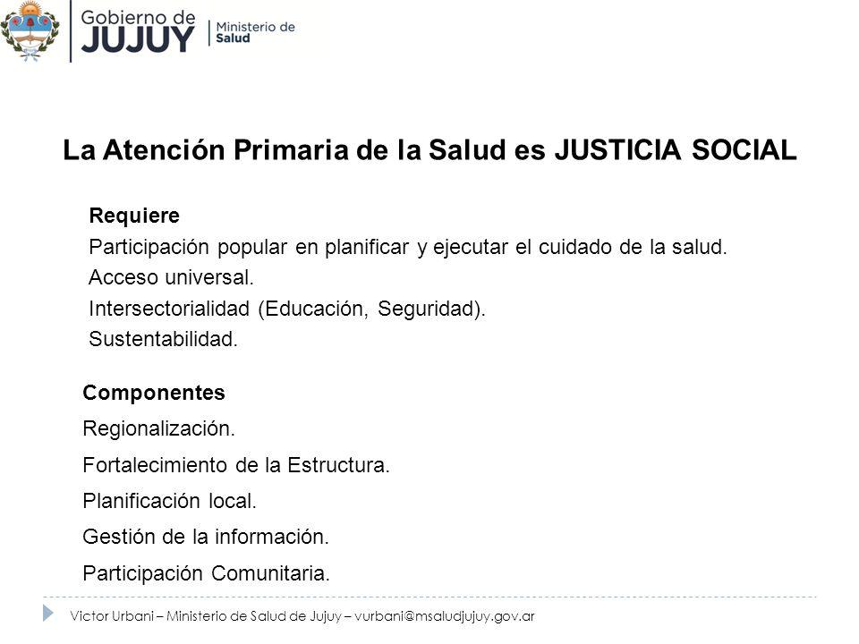 La Atención Primaria de la Salud es JUSTICIA SOCIAL