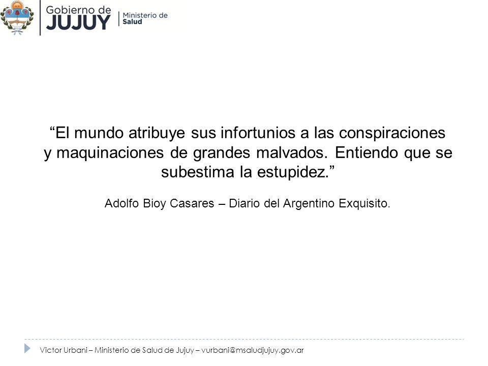 Adolfo Bioy Casares – Diario del Argentino Exquisito.