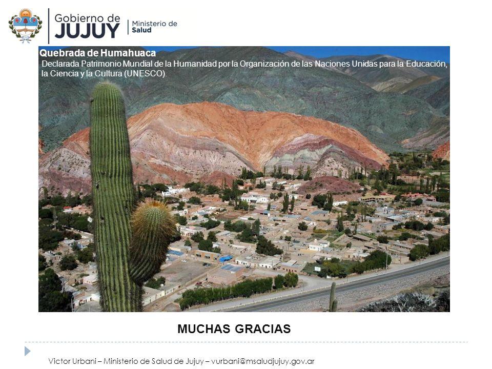 MUCHAS GRACIAS Quebrada de Humahuaca