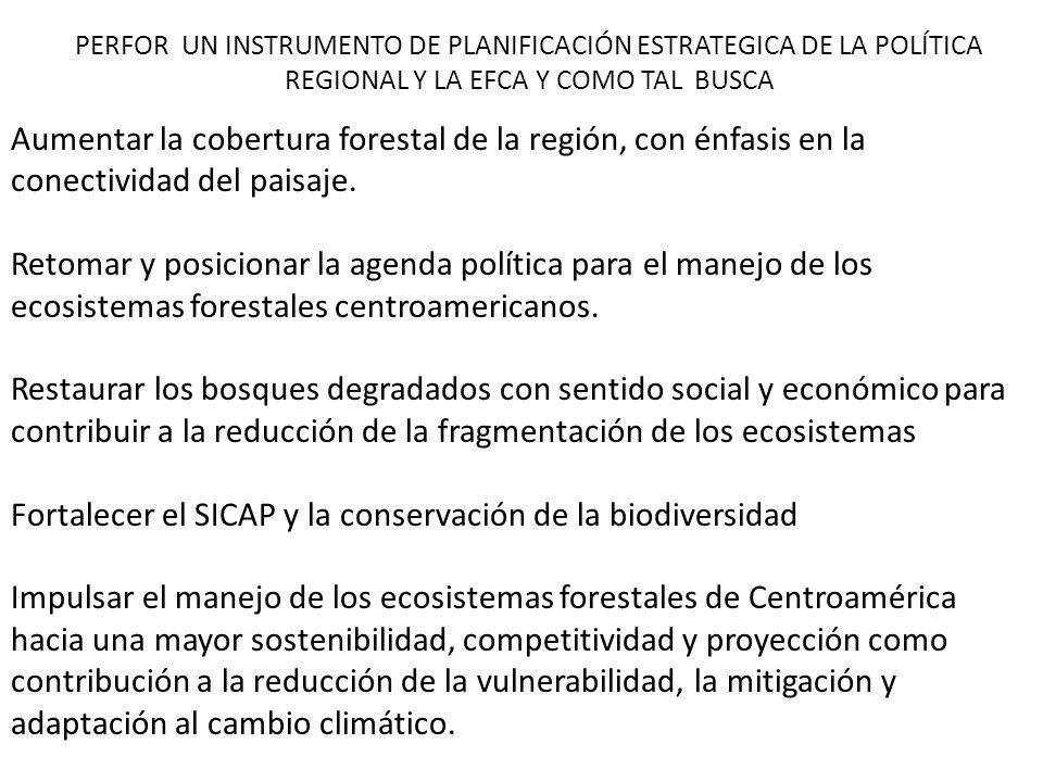 Fortalecer el SICAP y la conservación de la biodiversidad