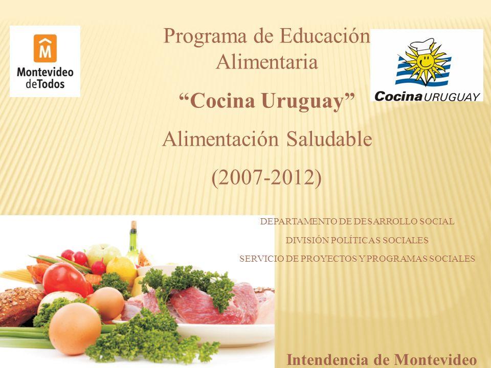 Programa de Educación Alimentaria Cocina Uruguay