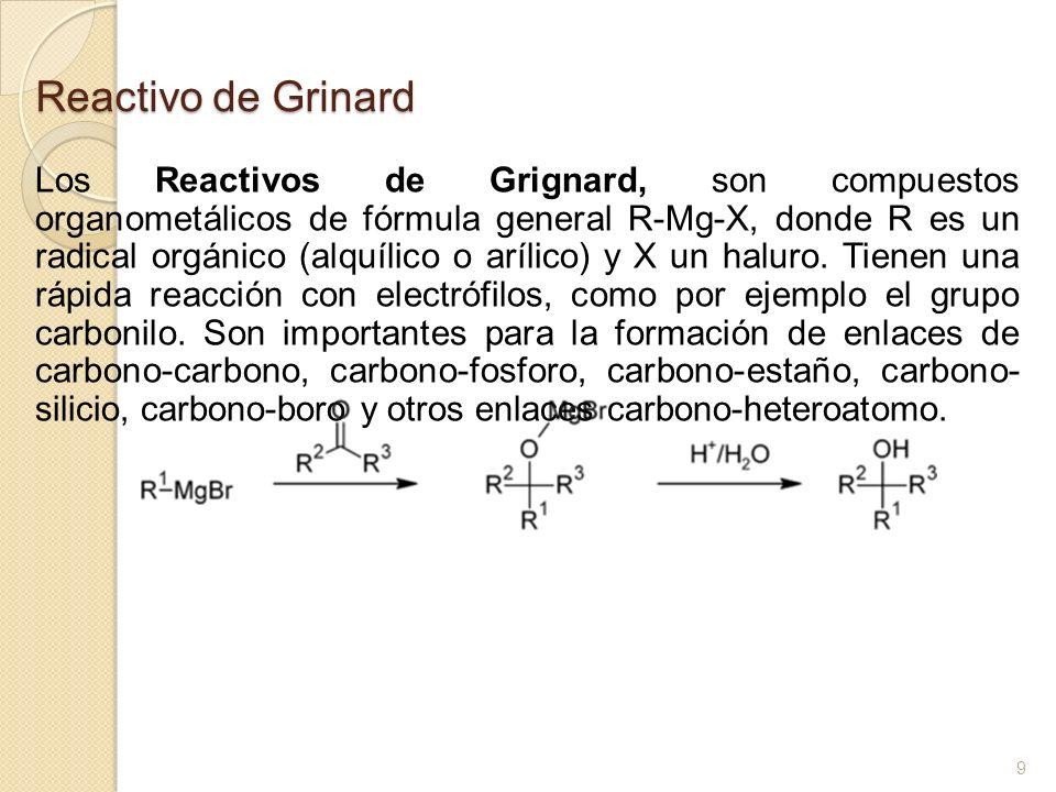 Reactivo de Grinard