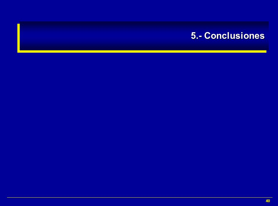 5.- Conclusiones