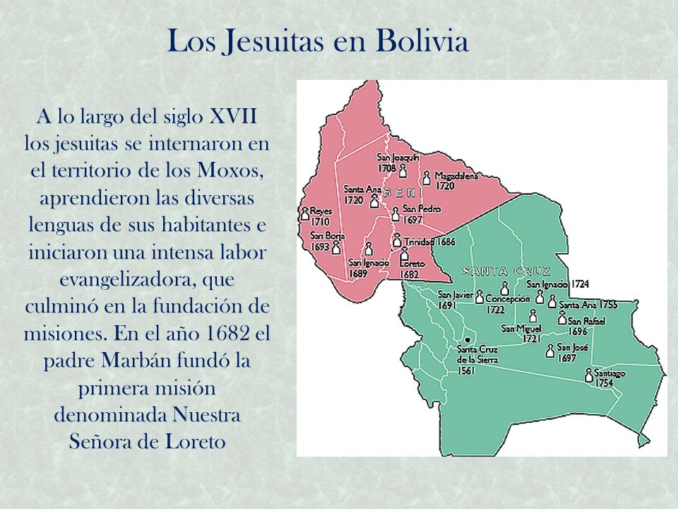 Los Jesuitas en Bolivia