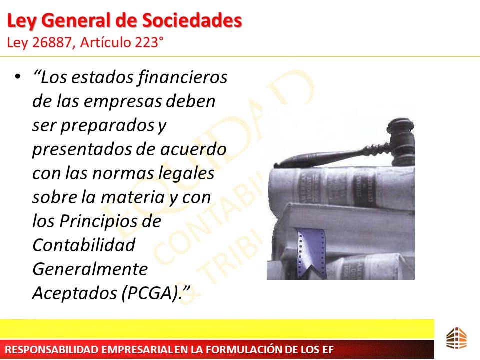 Ley General de Sociedades Ley 26887, Artículo 223°