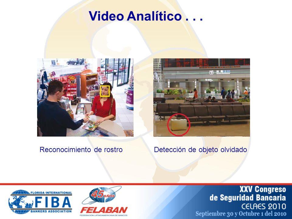 Video Analítico . . . Reconocimiento de rostro