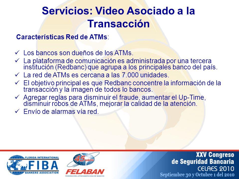 Servicios: Video Asociado a la Transacción