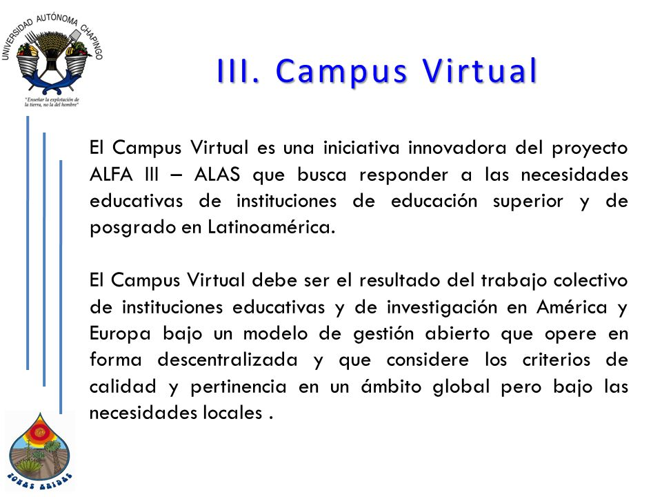 III. Campus Virtual
