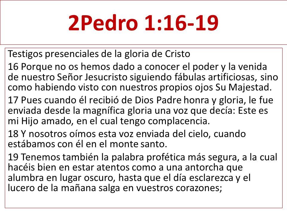 2Pedro 1:16-19