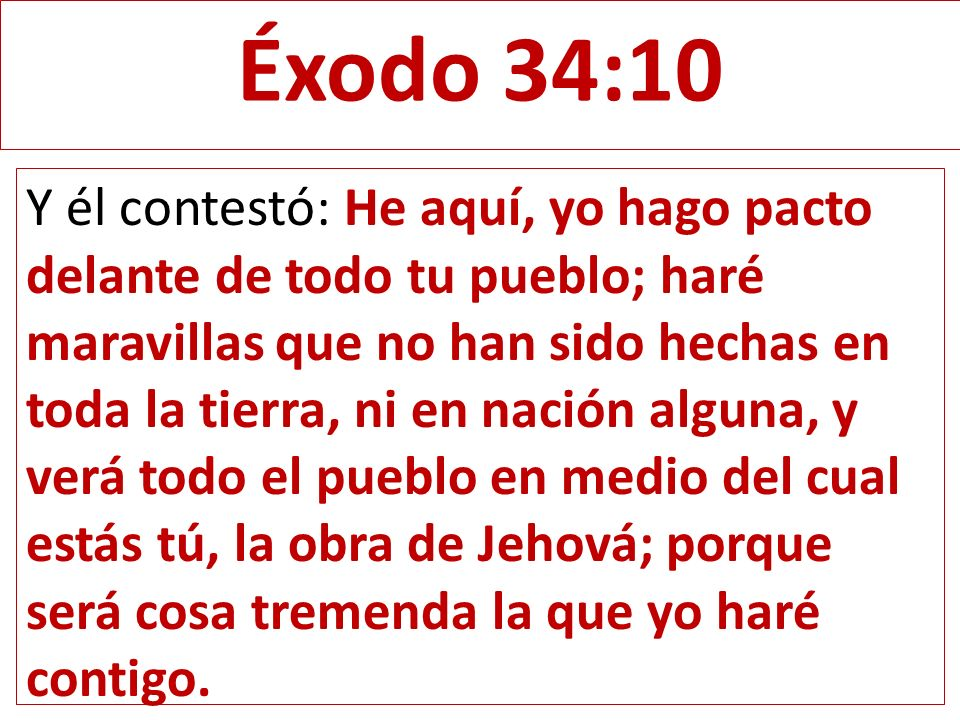 Éxodo 34:10