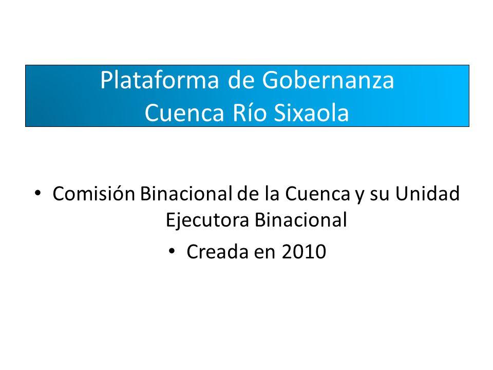 Plataforma de Gobernanza Cuenca Río Sixaola