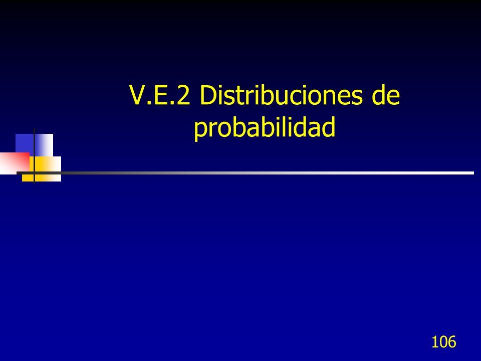 V.E.2 Distribuciones de probabilidad