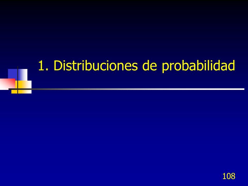 1. Distribuciones de probabilidad