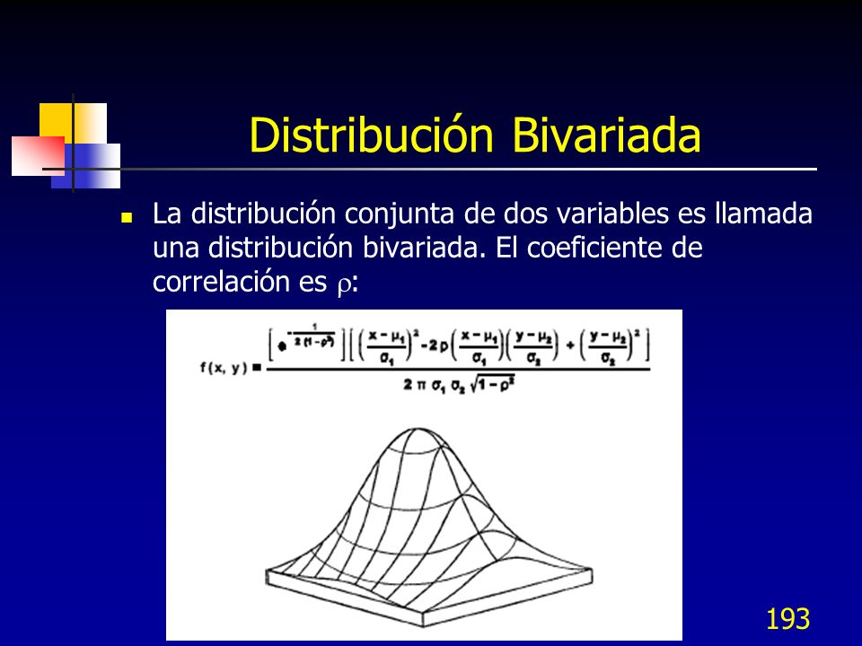 Distribución Bivariada