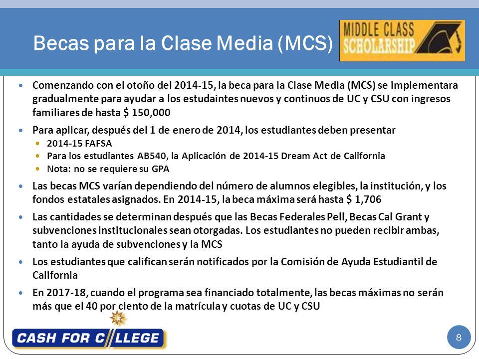 Becas para la Clase Media (MCS)