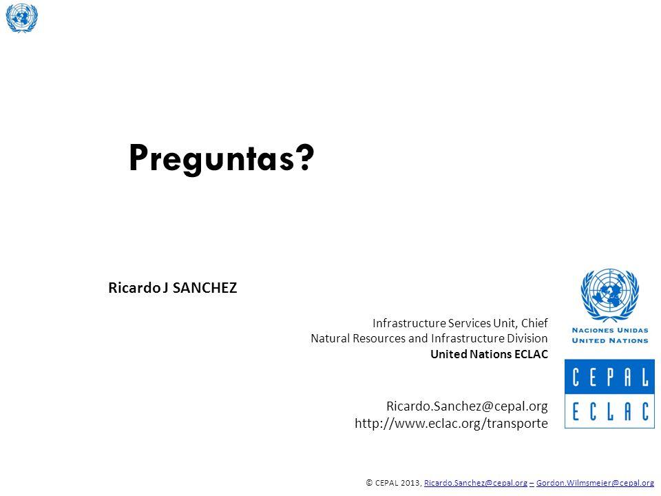 Preguntas Ricardo J SANCHEZ Ricardo.Sanchez@cepal.org