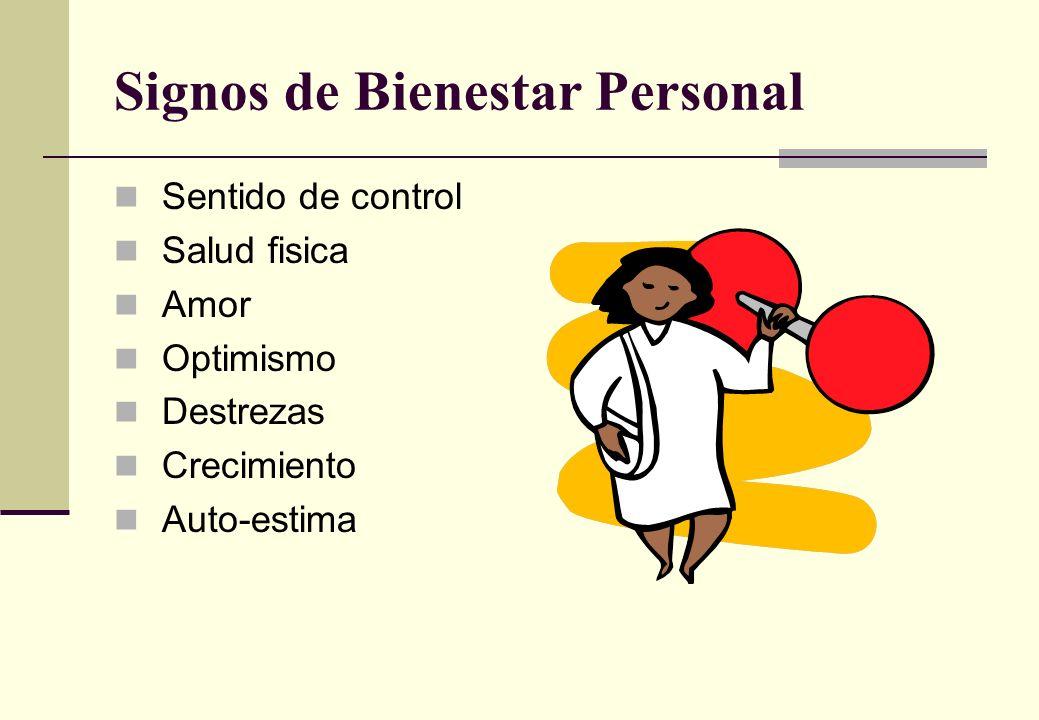 Signos de Bienestar Personal