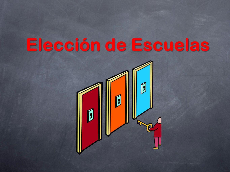 Elección de Escuelas