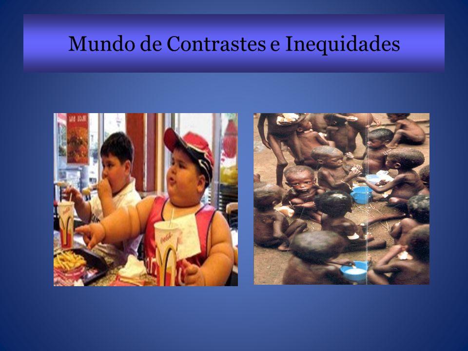 Mundo de Contrastes e Inequidades