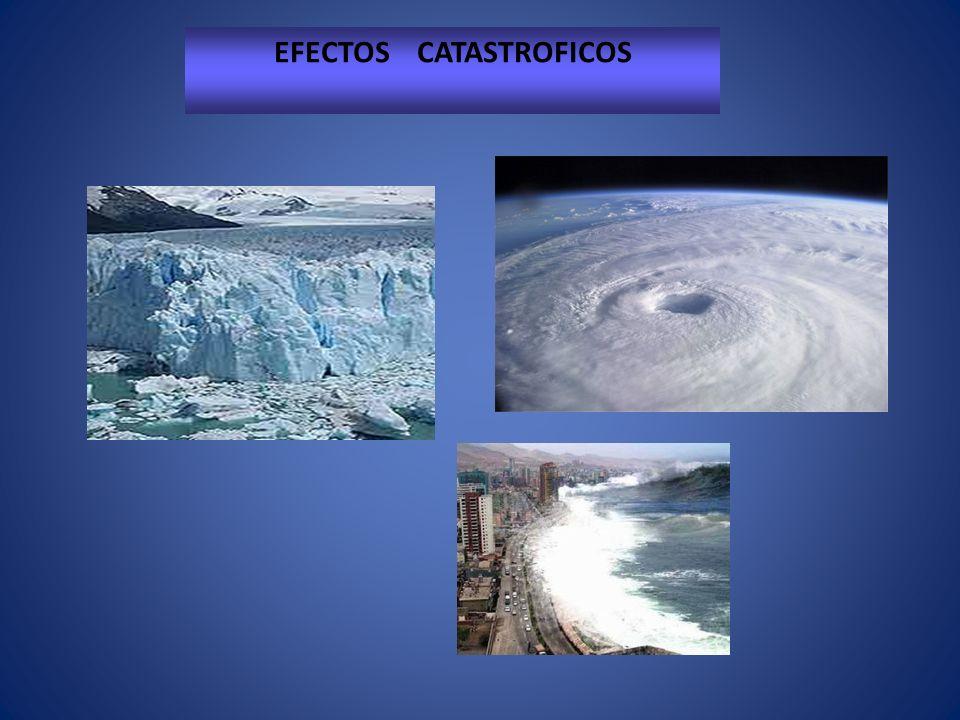 EFECTOS CATASTROFICOS