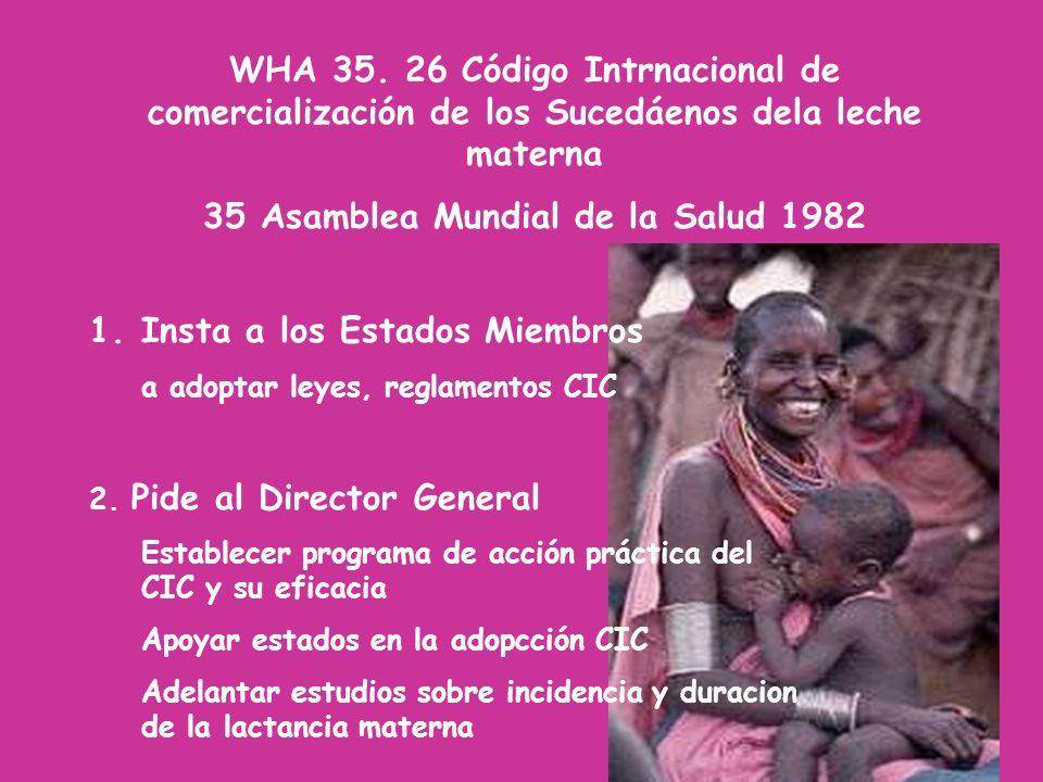35 Asamblea Mundial de la Salud 1982